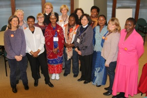 Participants following their three-day Indaba on violence against women and girls Photo Credit: ACNS