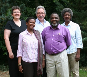 Bishop John with other Continuing Indaba facilitators